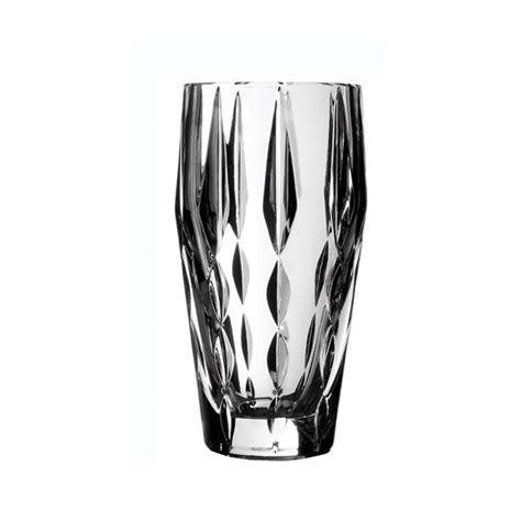 Vera Wang Wedgwood Peplum Crystal Vase 23cm   Wedgwood