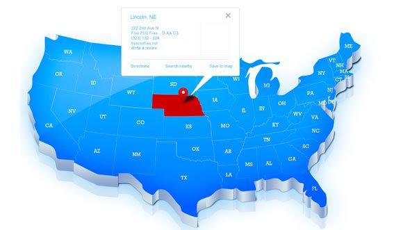 Map Of United States Editable | dafytk