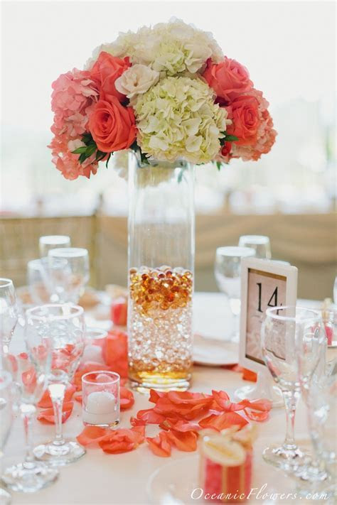 25  best ideas about Coral centerpieces on Pinterest