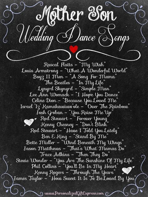 Top 20 Mother/Son Dance Wedding Songs in 2019   Roundup of