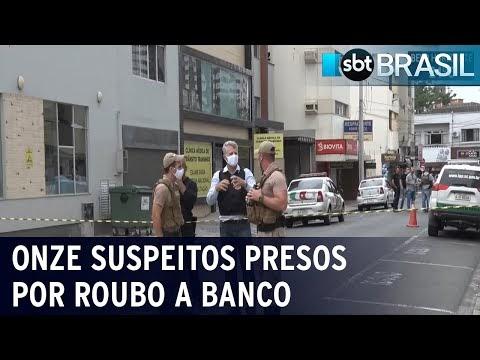 Polícia prende mais dois suspeitos de assalto a banco em Criciúma
