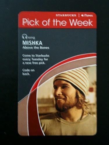Starbucks iTunes Pick of the Week - Mishka - Above the Bones