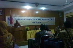 Workshop Pemuda Pelopor Propinsi Jawa Timur 2011