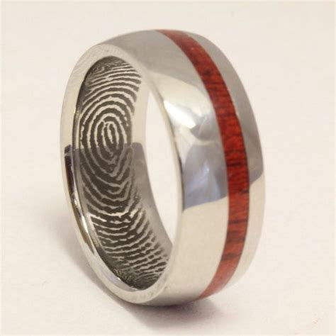 1000  ideas about Fingerprint Wedding Bands on Pinterest