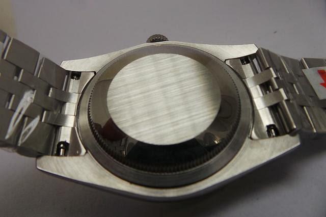 Rolex Datejust Solid Case Back