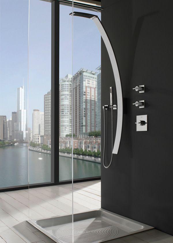 Modern Luxury shower ♥