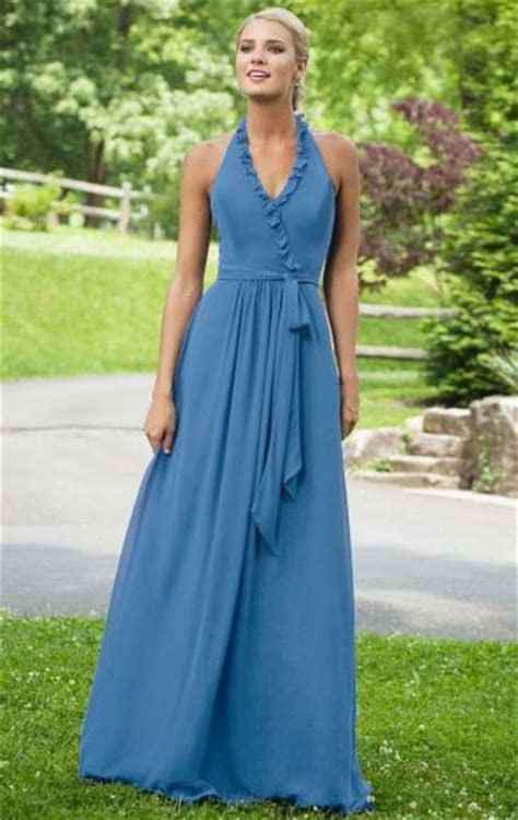 Unique Blue Bridesmaid Dress BNNAD1016 Bridesmaid UK