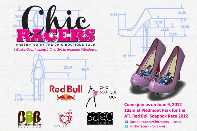 Chic Racers Promo Flyer - Rev3