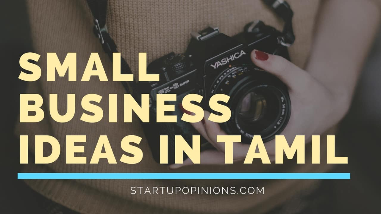 Top small business ideas in Tamil, start off your own business in 2018