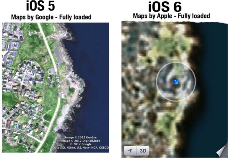 Apple Maps Fails Miserably Removes And Distorts Popular