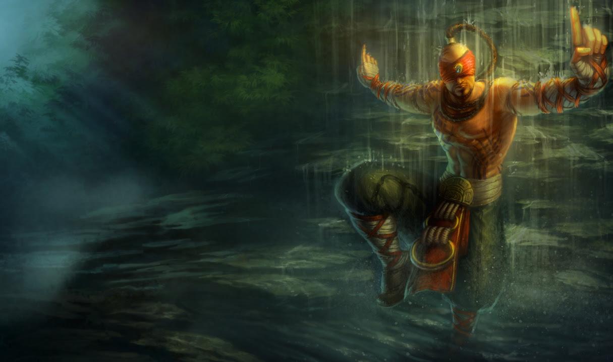 Lee Sin League Of Legends Wallpapers