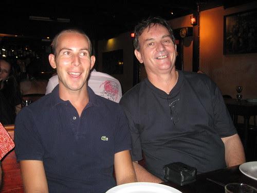 Hugh and Stephen