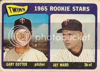 #421 Twins Rookie Stars: Gary Dotter and Jay Ward
