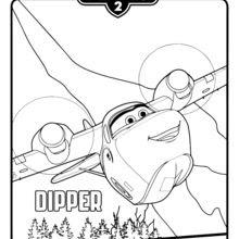 Dibujos Para Colorear Dipper De Aviones 2 Eshellokidscom