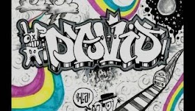 Graffiti Huruf S Keren