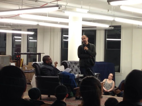 Hilton Als and Junot Díaz, at the Strand