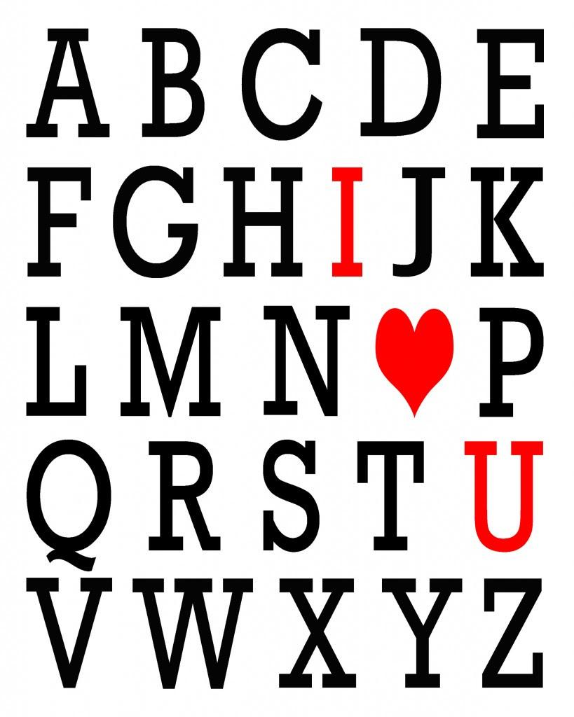 ABC Valentine {Easy Peasy Valentine} | Oopsey Daisy