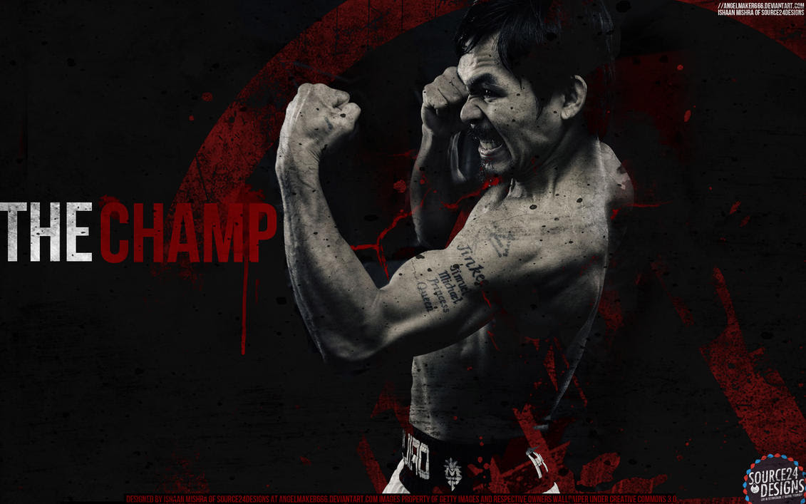 Manny Pacquiao Wallpaper by