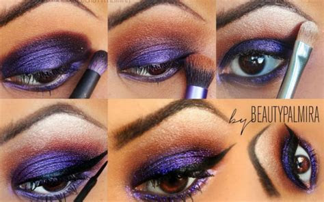 20 Wonderful Purple Smokey Makeup Tutorials