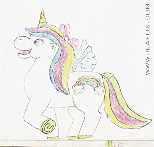 Querido poney, Little Pony, Rainbow Dash, desenho digital