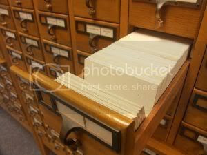 Card Catalog Pictures, Images and Photos