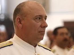 El ministro para la Defensa, Diego Molero