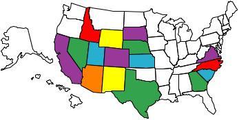 States Flown to