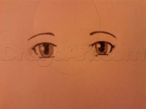 draw normal anime eyes female step  step anime