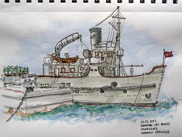 Nusret Mine Ship Çanakkale TURKEY