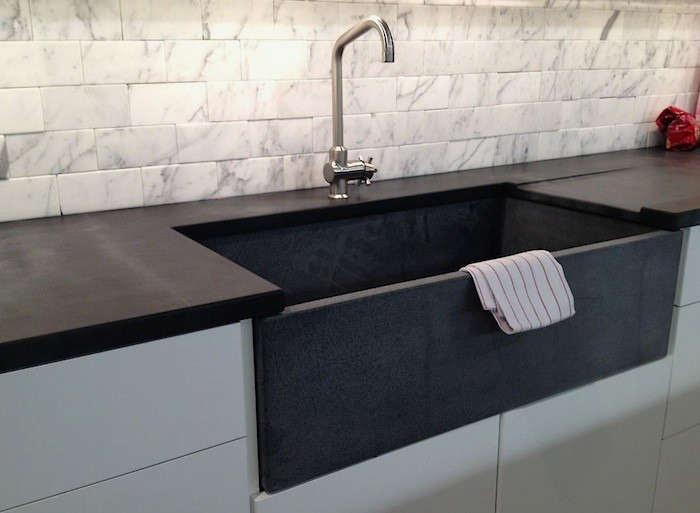 Soapstone counter sink M teixeira Remodelista