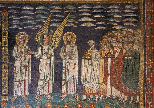 Ss Peter & Paul leading the Martyrs to Glory