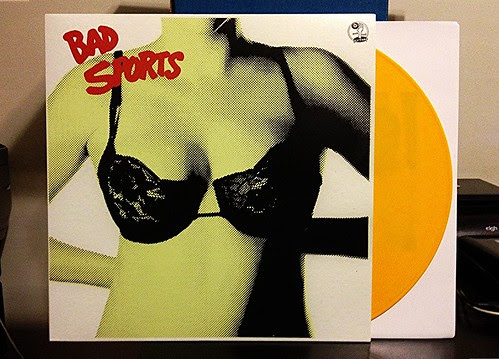Bad Sports - Bra LP - Yellow Vinyl (/200) by Tim PopKid