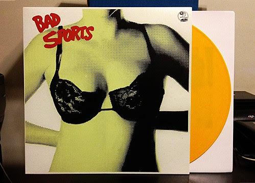 Bad Sports - Bra LP - Yellow Vinyl (/200) by Tim PopKid