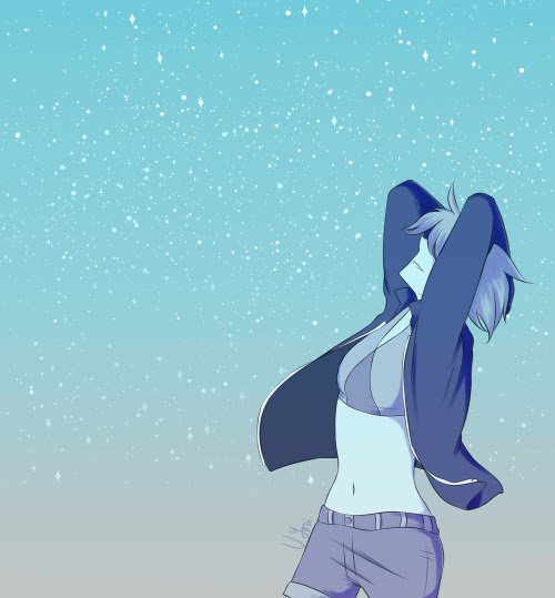 A Lapis drawing I made months ago. You can find this pic in my store too.   Yori's Redbubble