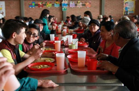 Comedor comunitario - Foto: Secretaría de Integración Social