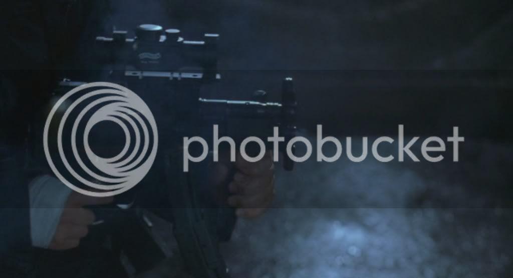 H&K MP5A4 Firing