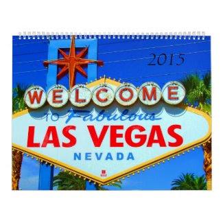 Big Las Vegas Calendar 2015