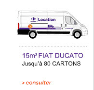 Locations De Vehicule Voitures Camion 15m3 Carrefour
