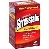 NEW Stresstabs Energy 600 Tablets 60 Each