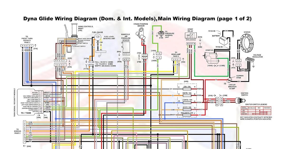 1994 Sportster 883 Wiring Diagram