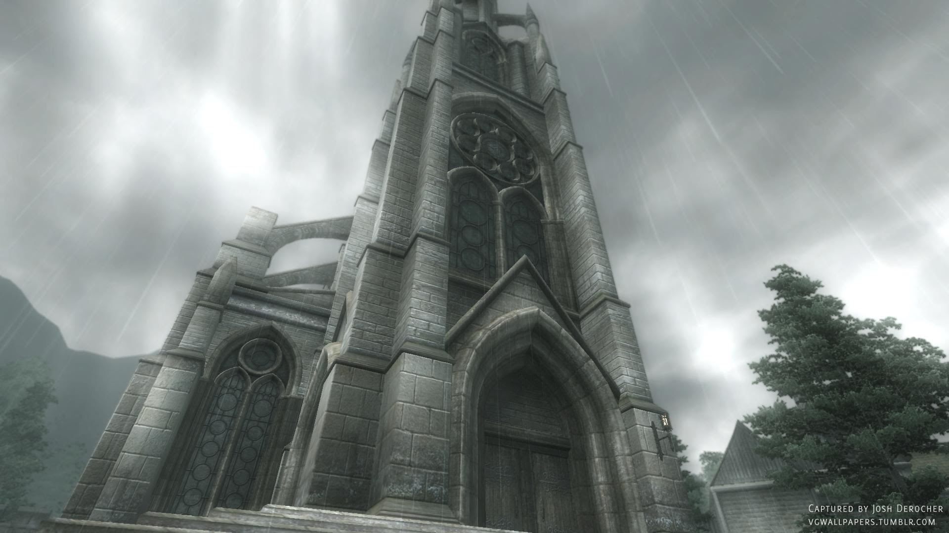 Video Game Wallpapers A Chapel A Screenshot From The Elder