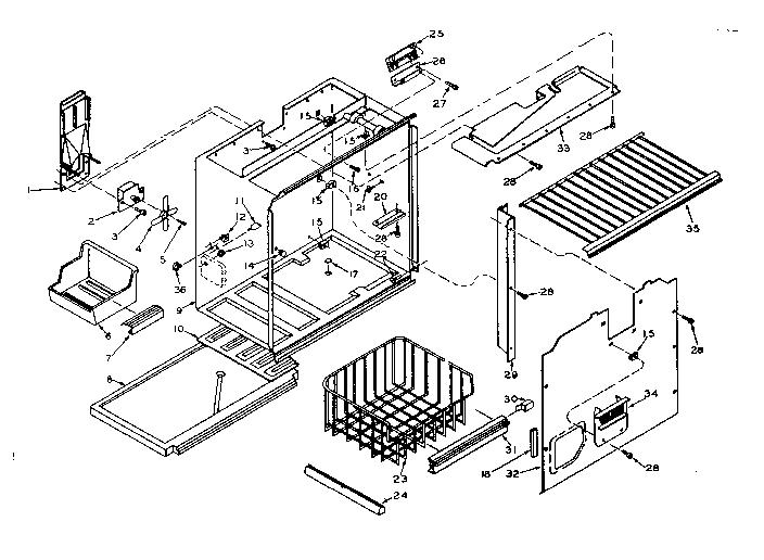 33 Kenmore Coldspot Model 106 Parts Diagram