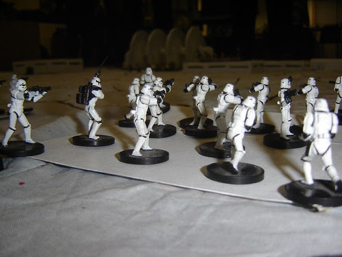 Stormtroopers  ready for attack on shield generator