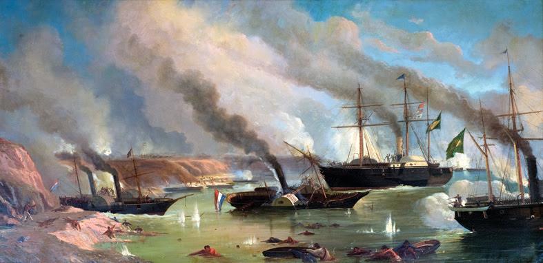Resultado de imagem para batalha naval do riachuelo