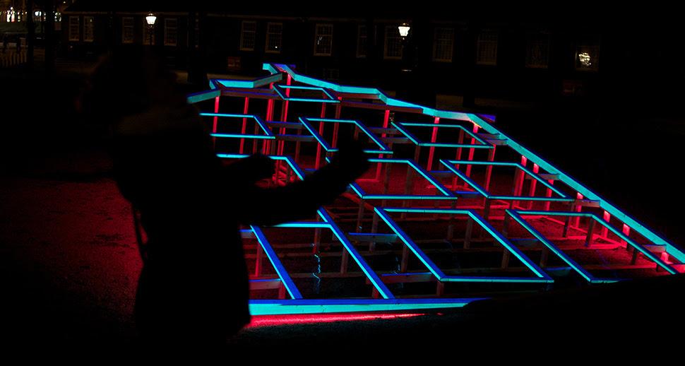 Blauwe Uur Light House Amsterdam Light Festival
