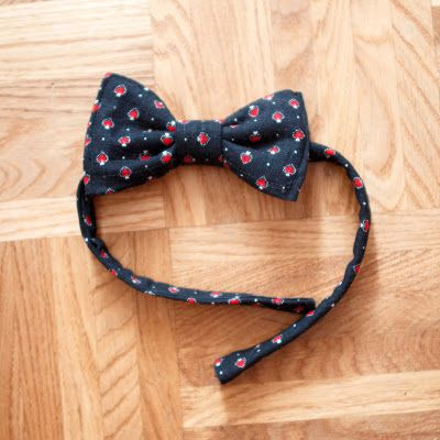 Viele viele Füchse: How to make a bow tie ?