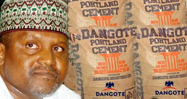 Why Our Cement Sells For N1, 800 In Zambia But N3, 500 In Nigeria—Dangote Cement Plc