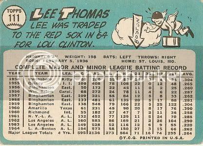 #111 Lee Thomas (back)