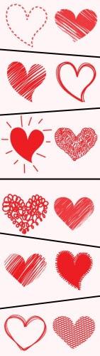 Massor med hjärtan till er