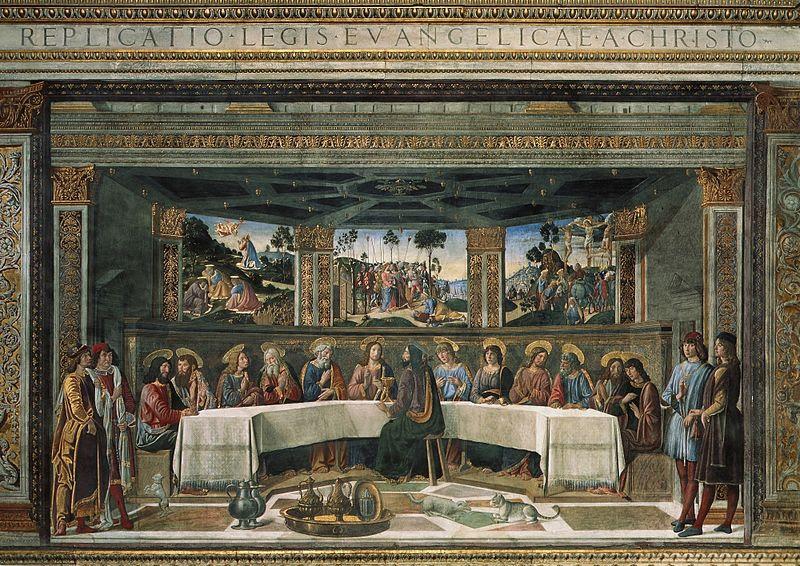 Fil: Cosimo Rosselli Ultima cena.jpg
